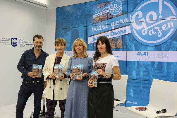Gran acogida a 'Iritsi gara!', el primer libro de la colección de Go!azen