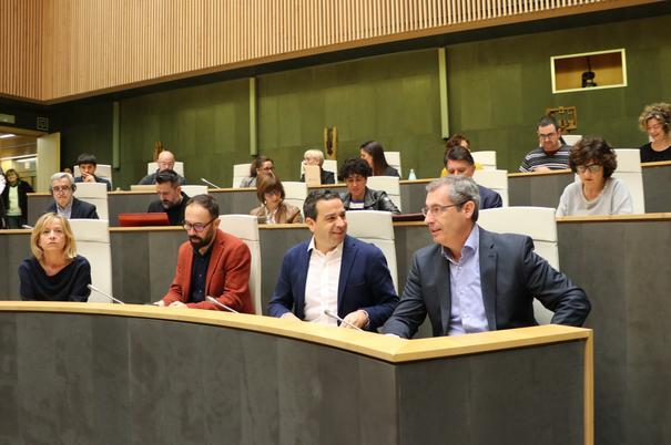 """Gipuzkoa aprueba unos presupuestos """"sociales e inversores"""" para """"arrancar la legislatura con ambición"""""""