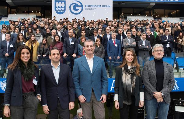 Gipuzkoan lan egin nahi duten 400 talentu gazte eta 40 enpresa konektatu ditu Gipuzkoa Talent-ek