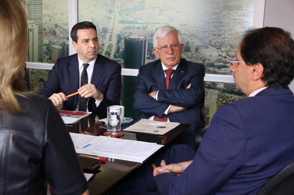 Imanol Lasa se ha reunido con el Ministro de Industria y Turismo de Colombia