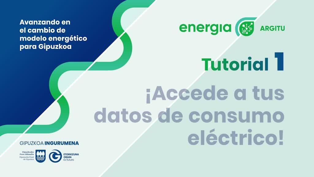 1er TUTORIAL: Cómo acceder a tus datos de consumo eléctrico